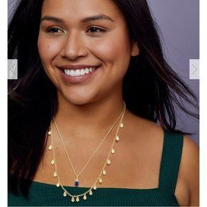 Kendra Scott Freida Gold Multi Strand Necklace